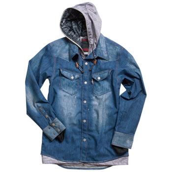JFJ97300 DENIM SHIRT
